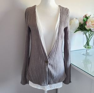 Against Nudity Cardigan